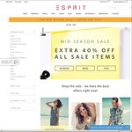 ESPRIT - Extra 40% off All Sale Items (Free Shipping on Orders over $50)