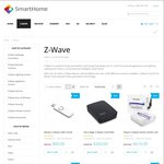 10% off Z-WAVE @ SmartHome - $10 Flat Rate Shipping