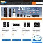 Digital Cinema Wharfedale Speakers 40% Off Sale - Diamond 200 series