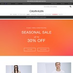 Calvin Klein: Seasonal Sale up to 30% off Storewide. Extra 20% off on Accessories