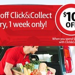 $10 off $100+ Spend @ Coles Online [Click & Collect] eg. $30 off $120+ Spend or $40 off $130+ Spend