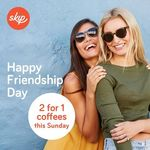 2 for 1 Coffee with Skip App This Sunday 30 July