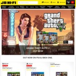 Grand Theft Auto V (GTA V) [PS4/XB1/PC] - $39 @ JB Hi-Fi Online and Instore