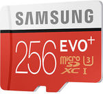 Samsung EVO+ 256GB MicroSD U3 95MB/s Card & Adapter $134.40 Delivered @ Shopping Express eBay
