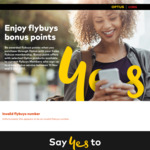 50,000 Flybuys Points When You Purchase Optus Mobile Plan, 20,000 for Broadband, 5,000 for Sim, 3,000 for Prepaid