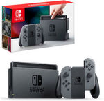 Nintendo Switch Grey Console $377.15 Delivered @ The Gamesmen eBay