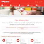 SkyBus - 15% off Melbourne/Avalon