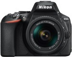 Bonus Nikon 35mm F1.8 DX Lens ($298 RRP) with D5600 Kits (18-55 $998) (18-55+55-200 $1198) (18-55+55-300 $1178) @ Harvey Norman