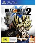 PlayStation 4: Dragon Ball Xenoverse 2 $24 @ JB Hi-Fi