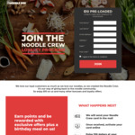 FREE $10 Pre-Loaded Loyalty Card Delivered @ Noodle Box & Wokinabox