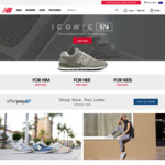 50% off New Balance Online Store (Full Priced Items Only) - Some Exclusions