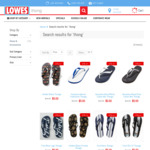 Havaiana/Ford/Holden Thongs $4.50 (Was $14.95) Delivered @ Lowes