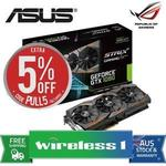 Asus ROG Strix GTX 1080 8GB Graphics Card (STRIX-GTX1080-A8G-GAMING) $787.50 Delivered @ Wireless1 eBay