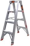 Rhino 1.2m 150kg Double Sided Aluminium Step Ladder $59.89 (Was $87) @ Bunnings