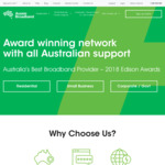 Aussie Broadband: Free Modem (Valued at $149) on New Signup + $15 Shipping