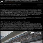 [XB1, PC] Free DLC - Forza Motorsport 7 : 1984 Nissan #11 Skyline Turbo Super Silhouette, July Spotlight Porsche Pack & More