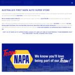 [QLD] 25% off Storewide @ NAPA Auto Logan