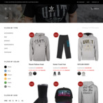 40% off UNIT Clothing Winter Collection: Hoodies, Trackies, Accessories & More (Free Shipping > $75) @ Unit