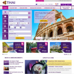 SYD, BNE, MEL to Multiple Euro Destinations, Open Jaw from $1044 Return Booked Directly @ Thai Airways
