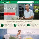 $15 off $50+ Spend (Free Delivery over $30) @ Hoselink