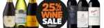 25% off on Wines When You Buy 6 or More Bottles (Free C&C or Free Shipping on $100+ Spend) @ BWS