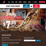 [WA] Value Range Pizzas for $3.95 Pick up, 2 Traditional Pizzas $22 Delivered (Excl. Friday + Saturdays) @ Domino's (Ellenbrook)