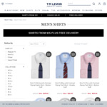 $35 Shirts + Free Delivery - TM Lewin Black Friday Deal