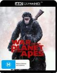 War for the Planet of the Apes [2 Disc] (4K Ultra HD) $13 + Delivery (Free with Prime/ $49 Spend) @ Amazon AU