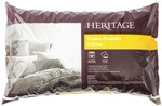 Heritage White Goose Feather Pillow Standard $18 (Was $49.95) / European $27 (Was $69.95) @ Myer