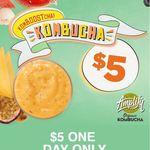 Boost Juice - $5 Kombucha (Save $2.90) 9th Jan Only