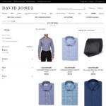 Calvin Klein Men's Fit Shirt $9-$25 C&C (Was $89.95- $99.95) @ David Jones