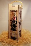 Personal Engraved Wine Box 20% off - $19.95 Including Engraving @ Laser Cut Crafts