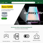 [Pre Order] Save $250 on Any Samsung Galaxy S10 Plans + Galaxy Buds + ($50 Cashback OR 5000 Woolworths Rewards) @ Woolies Mobile