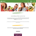 10,000 Dining Points (Worth $20) When Booking with TheFork (Formerly Dimmi)