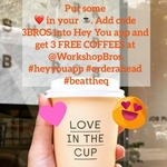 [VIC] 3 Free Coffees @ Workshop Brothers via Hey You (Queen St, Melbourne)