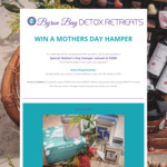 Win a Mother's Day Hamper Valued at $390 from Byron Bay Detox Retreats