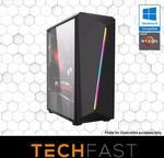 "R5 2600 RTX 2080 PC: $1299 / + 24"" Monitor Bundle $1399 (Inc 2 Free Games) @ TechFast Website"