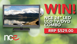 "Win an NCE 24"" Full HD TV/DVD Combo Worth $529 from Parable Productions"