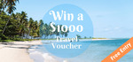 Win a $1,000 Qantas Travel Voucher from Cyberdyne Pty Ltd