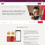 Get $50 When You Open Your First Westpac Choice Account & Make 5 Purchases within 30 Days @ Westpac