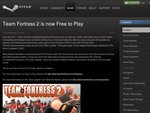 Team Fortress 2 Now Free to Play!