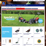Ferrex 51cm Self Propelled Electric Mower $399 @ ALDI on 31 August