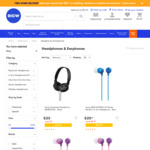 30% off All Sony Headphones & Earphones @ Big W