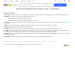 1 Year eBay Plus Subscription $5 (Normally $49) @ eBay