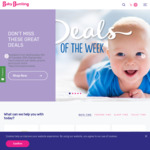 20% off Storewide @ Baby Bunting (Exclusions Apply)