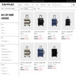 40% off Selected Hard Luggage @ Crumpler Eg Vis-À-Vis Cabin Matte 55cm $209.40