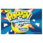 ½ Price Poppin Microwave Popcorn 4pk $2.77 @ Coles