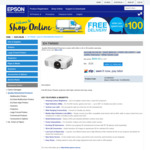 [Refurb] Epson EH-TW5600 Home Theatre Projector Full HD 1080p $689.40 Delivered @ Epson