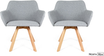40% off Upholstered Dining Chairs: e.g 2x Bess Chairs $299.40 + $39 Shipping @ Northhem