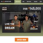 Win an All 4 Adventure Package incl an Isuzu D-Max Ute Worth $145,074 from Park Bligh Pty Ltd